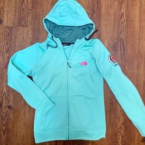 Women's turquoise North Face